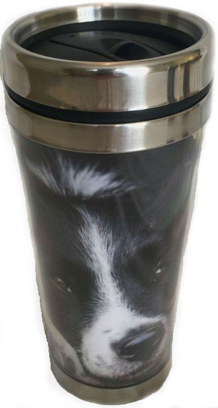 Thermal Mug, Collie